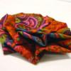 Fleur très simple en tissu