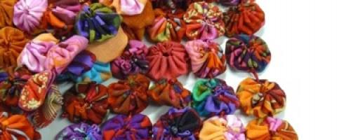 Challenge de Noël #21 : Une écharpe en yoyos