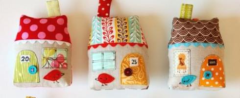Préparer Noël #5 : Petites et grandes maisons…
