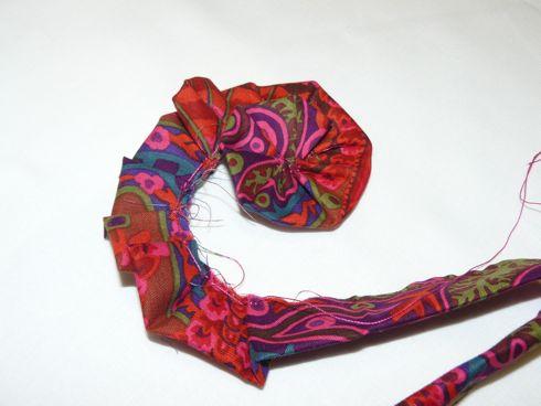 Fleur Tres Simple En Tissu Au Fil D Emma Idees Patchwork Et