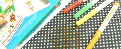 Idée : transformer vos tissus avec des feutres à tissu