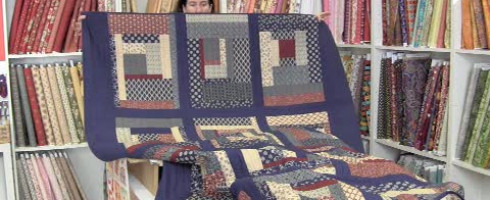 Le patchwork machine contemporain simple et rapide!
